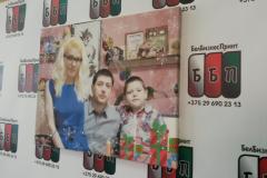 Семейное фото на холсте 50 на 40 см 21 01 19