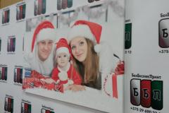 Семейное фото на холсте 50 на 70 см